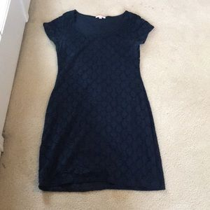 Women's navy blue dress